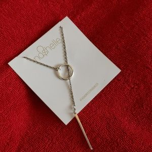 ☆NWOT-☆ Nashelle☆ Heather Drop Lariat Silver